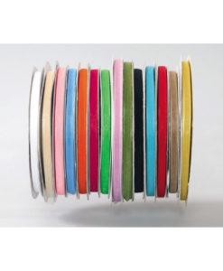 Κορδέλα Οργάντζα 7mm x 100m (Σε 14 χρώματα)
