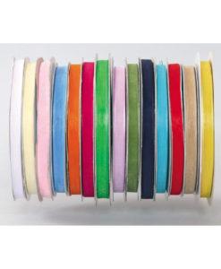 Κορδέλα Οργάντζα 9mm x 100m (Σε 14 χρώματα)