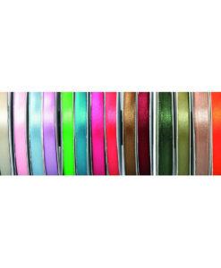 Κορδέλα Σατέν 6mm x 50m (Σε 21 χρώματα)