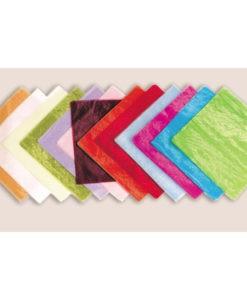 Οργάντζα Κρυστάλ χωρίς Μισινέζα 48x48 cm (Σε 13 Χρώματα)