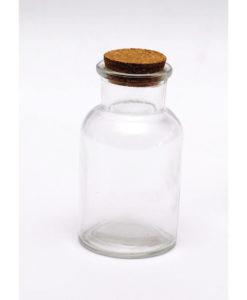 Γύαλινο Μπουκάλι Με Πώμα Από Φελλό 5