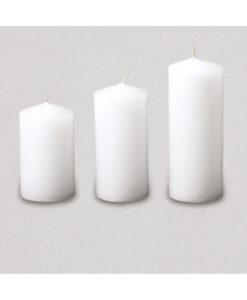 Κερί Γάμου Κύλινδρος με Μύτη (6cm διάμετρος)