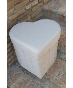 κουτί βάπτισηςκαρδιά