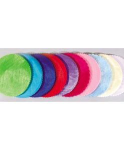 Τούλι Οργάντζα Συννεφάκι Στρόγγυλο 25x25 cm (Σε 11 Χρώματα)