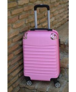 Βαλίτσα Trolley Ροζ