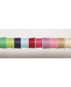 Κορδόνια Ημικερωμένα 1mm x 100m (Σε 12 χρώματα)