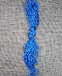 κλωστή φλος μπλε ρουά