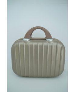 νεσεσέρ βαλίτσας trolley χρυσό