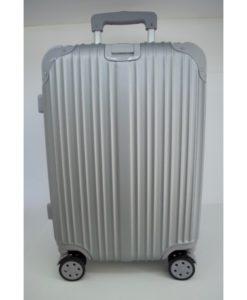βαλίτσα trolley ασημί