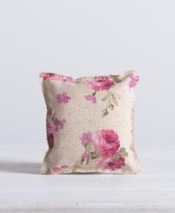 μαξιλαράκι floral roza