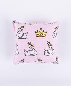 μαξιλαράκι ροζ κύκνος