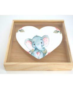 Κουτί για Μαρτυρικά Ελεφαντάκι