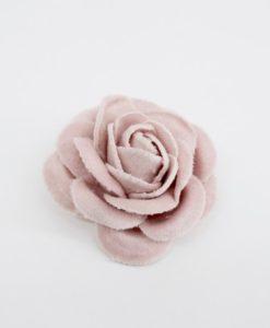 Λουλούδι Βελούδινο Ροζ Μεγάλο