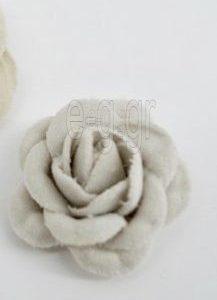 Λουλούδι Βελούδινο Εκρού Μικρό
