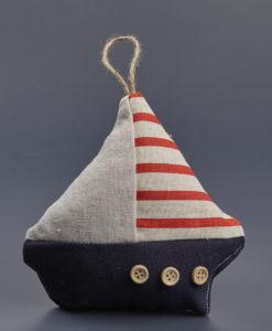 Μαξιλαράκι Καράβι Navy