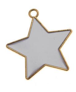Μεταλλικό Αστεράκι Χρυσό
