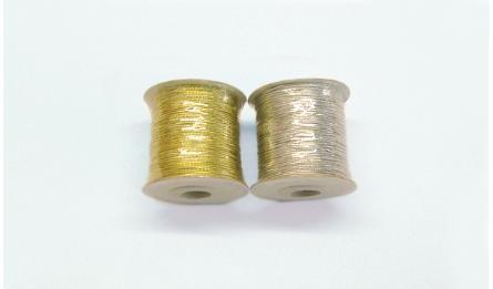 κορδόνι λεπτό χρυσό ασημί 1mm