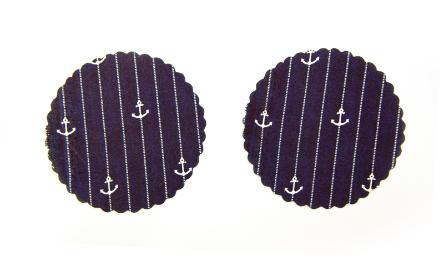πανάκι ναυτικό με άγκυρες