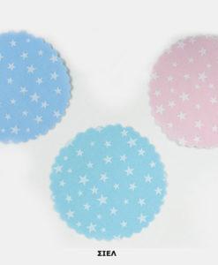 πανάκι βαμβακερό αστέρια