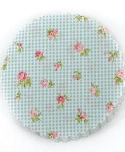 πανάκι ύφασμα floral καρό