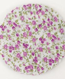 πανάκι ύφασμα λιλά λουλούδια