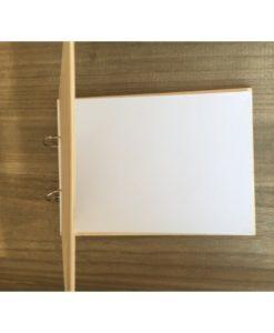 βιβλίο ευχών ξύλινο
