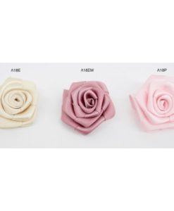 λουλούδια σατέν 4cm