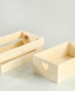 ξύλινο καφασάκι με κορδόνι