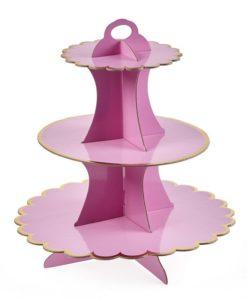 βάση για γλυκά ροζ