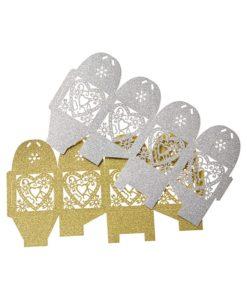 κουτάκι χρυσό - ασημί